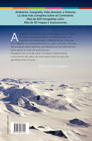 Antártida - back cover