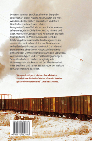 Patagonien Express - Back cover