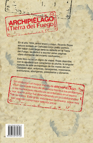 Archipiélago - Back cover