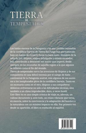 Tierra de Tempestades - back cover