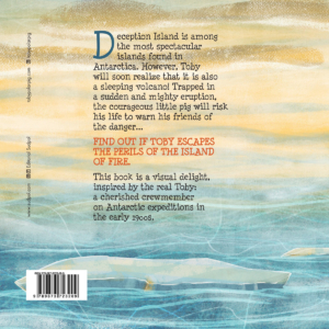 Toby and the Island of Fire - back cover