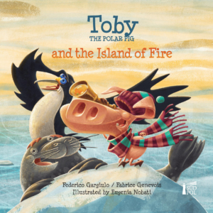 Toby and the Island of Fire - cover